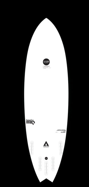 6'10 Haydenshapes Hypto Krypto Step Up Future Fins