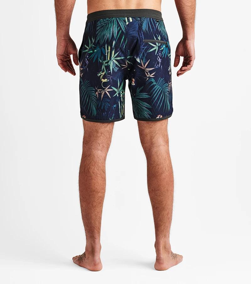 Roark Chiller Jungle Attack Boardshorts 17""