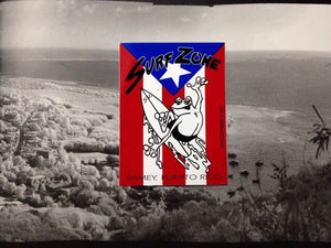 Puerto Rico flag sticker
