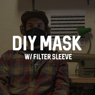 Our DIY Mask w/ Filter Sleeve