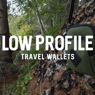 Low profile travel wallets or side bag is a must for your next road trip.