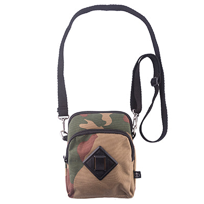Treefort Lifestyles Forager in Camo wear as cross bag or necklace