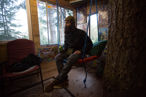 Dustin Kimsey Treehouse Estacada OR