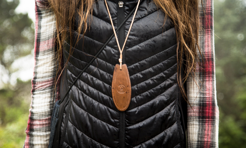 Air Bender leather necklace window surfboard