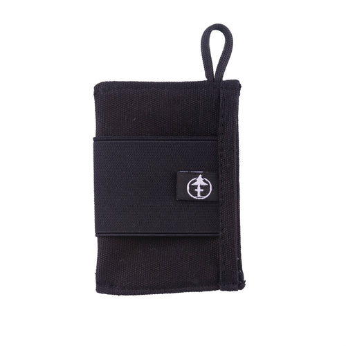 Black Shed Card Wallet by Treefort Lifestyles