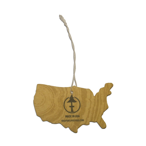 Car air fresheners by Treefort Lifestyles so your car smells nice on your road trips.