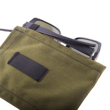 Load image into Gallery viewer, Olive Cordura Traveler Trunk Cordura Detail 4