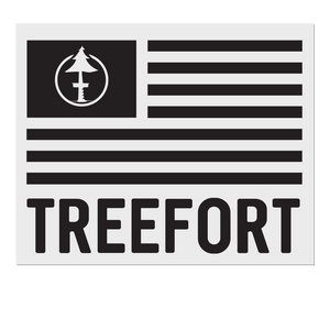 Treefort Lifestyles sticker decal in Black for your car is a great way to show love for treefort lifestyle products.