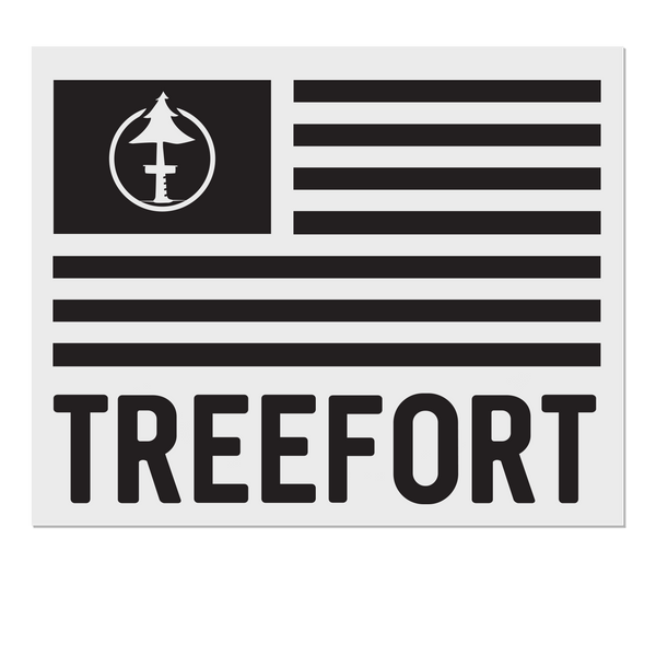 Treefort Lifestyles Car sticker decal in Black
