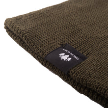 Load image into Gallery viewer, Green Prospect Beanie Detail 2