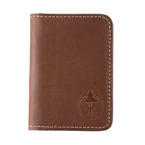 handcrafted leather wallet jackson brown