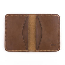 Load image into Gallery viewer, Jackson wallet by Treefort Lifestyles, made in the USA (top view)