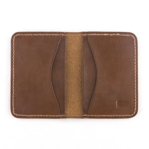Jackson wallet by Treefort Lifestyles, made in the USA (top view)