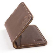 Load image into Gallery viewer, Jackson wallet by Treefort Lifestyles, made in the USA (side view)