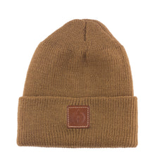 Load image into Gallery viewer, brown spotter beanie