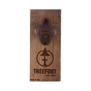 Tree Tap Bottle Opener Barn Board
