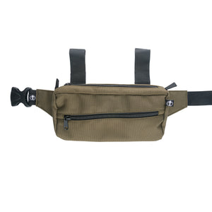 Green Slack Pack by Treefort Lifestyles - with straps extended
