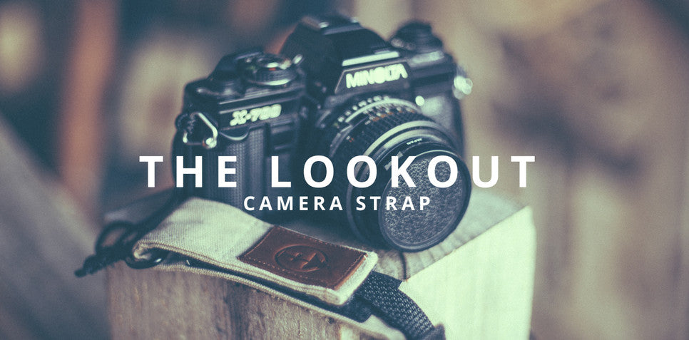 The Lookout camera strap