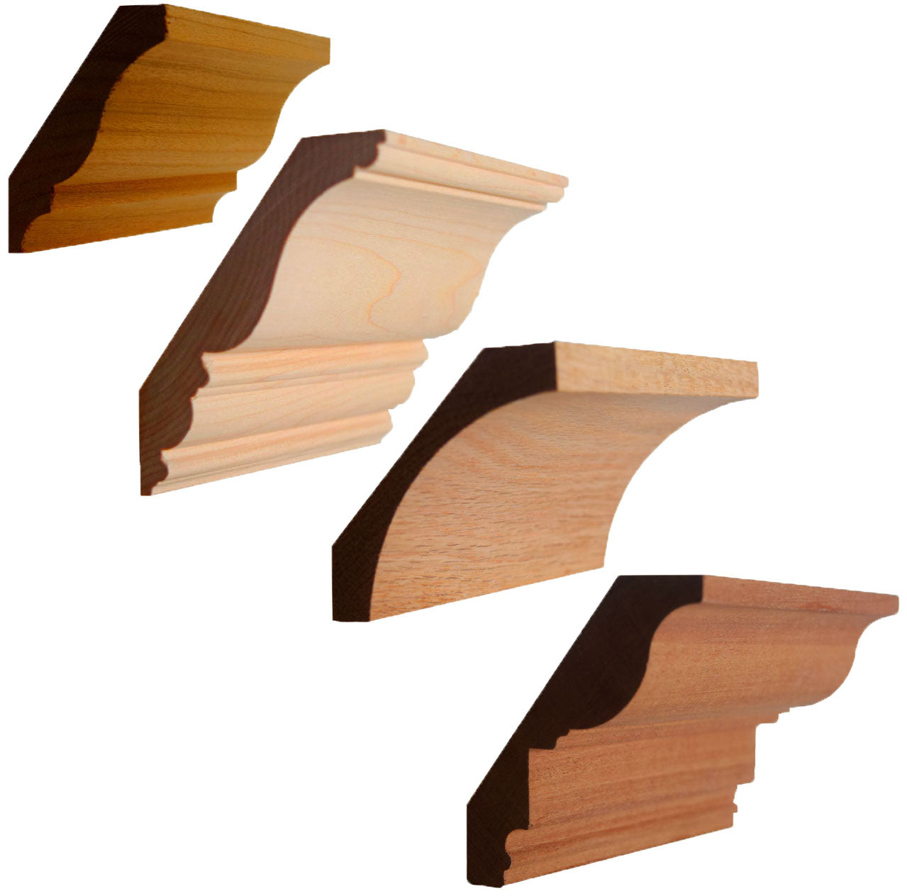 Hardwood Crown Mouldings