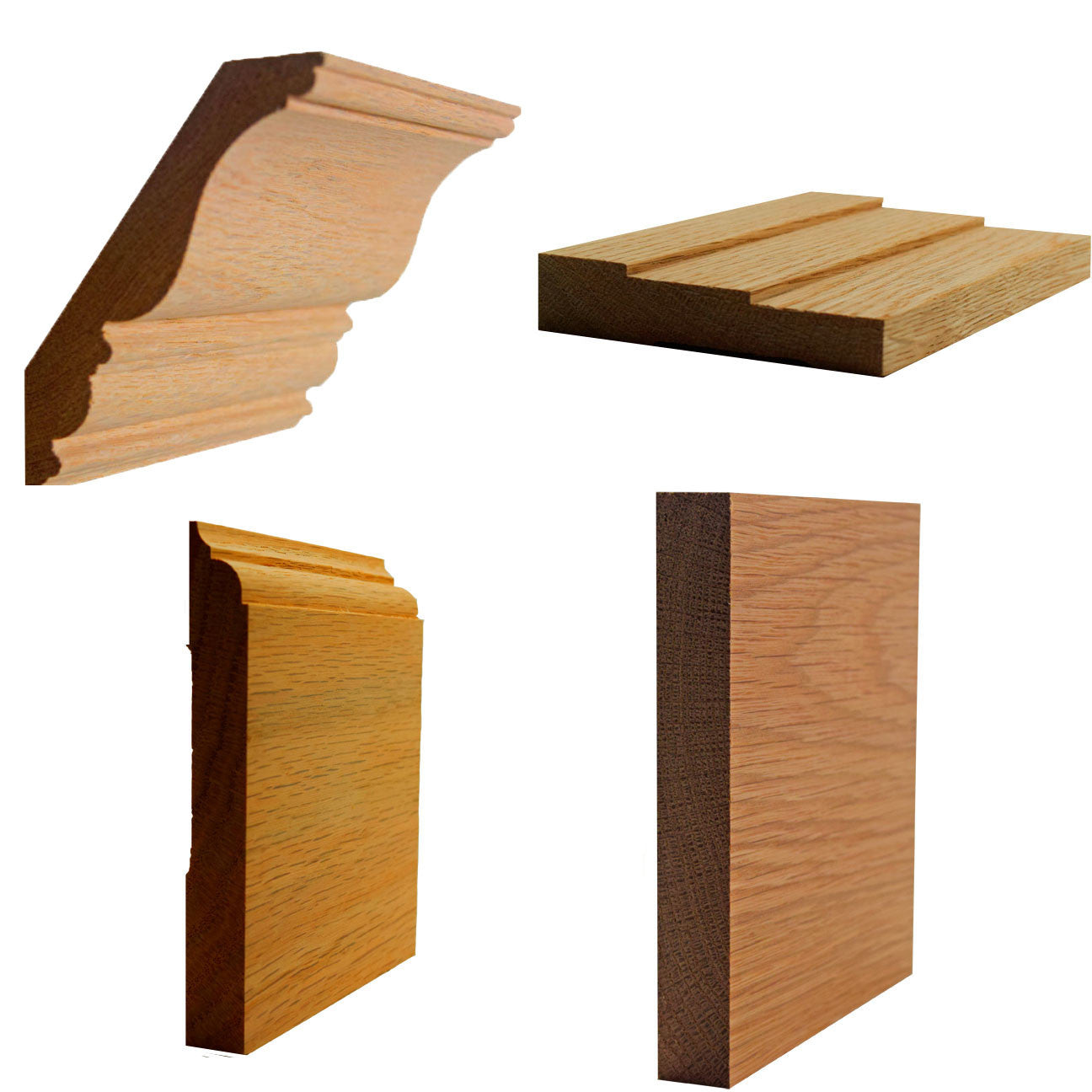 Red Oak Mouldings