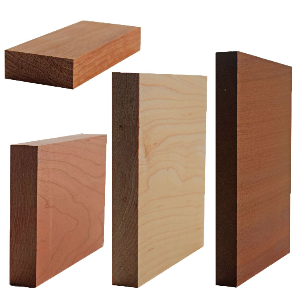 Hardwood Square Stock And Face Frames