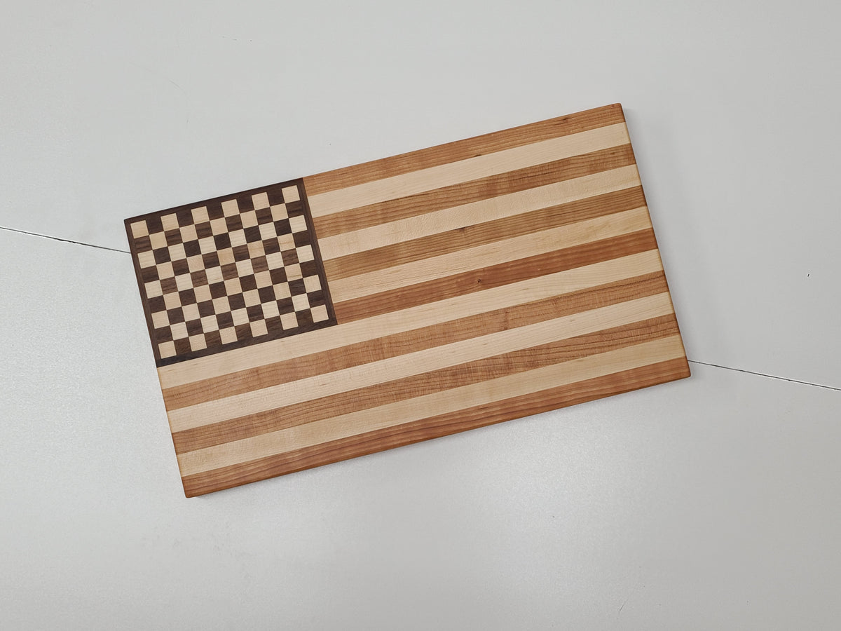 American Flag Cutting Board - 11 inches x 19.5 inches