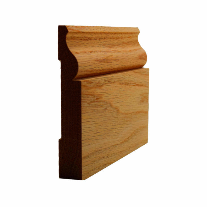 Red Oak Colonial Baseboard Trim EWBB11