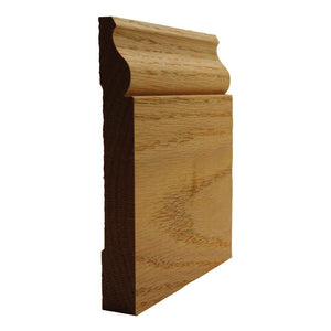 Red Oak Colonial Baseboard Trim EWBB12
