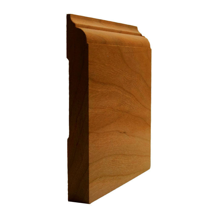 Cherry Nose and Cove Baseboard Trim EWBB23