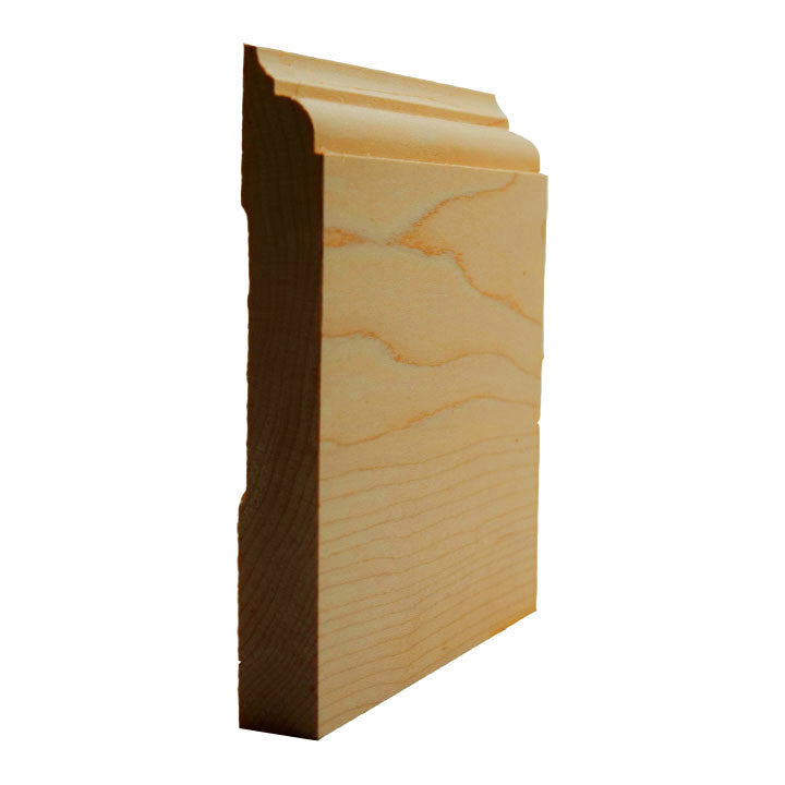 Maple Nose and Cove Baseboard Trim EWBB23