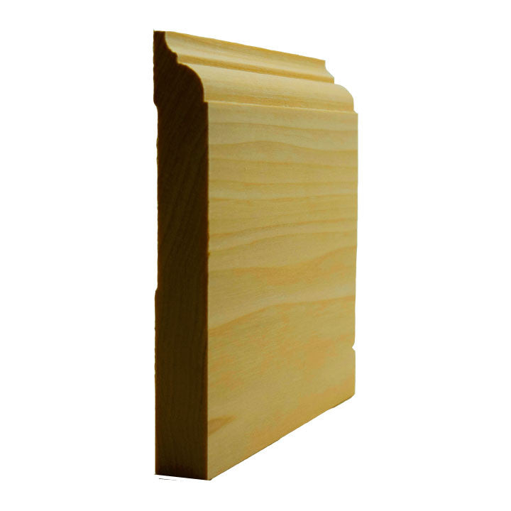 Poplar Nose and Cove Baseboard Trim EWBB23