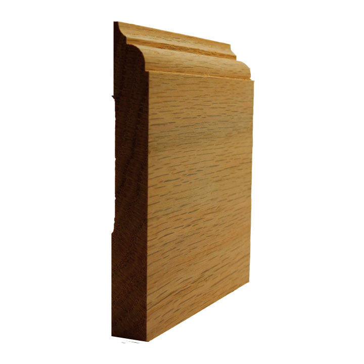 Red OakNose and Cove Baseboard Trim EWBB23