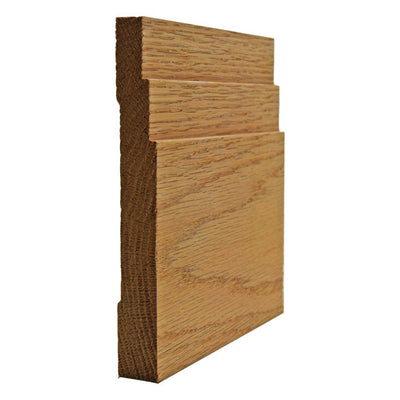 Red OakContemporary Baseboard Trim EWBB29