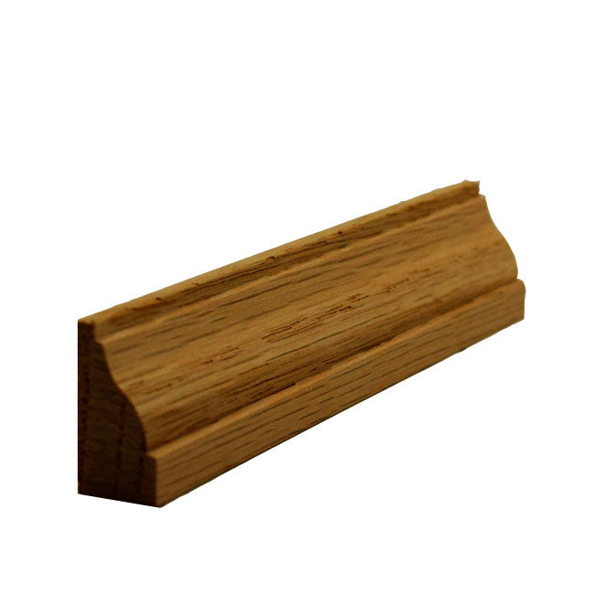 Red Oak Colonial Baseboard Shoe Trim EWBS13