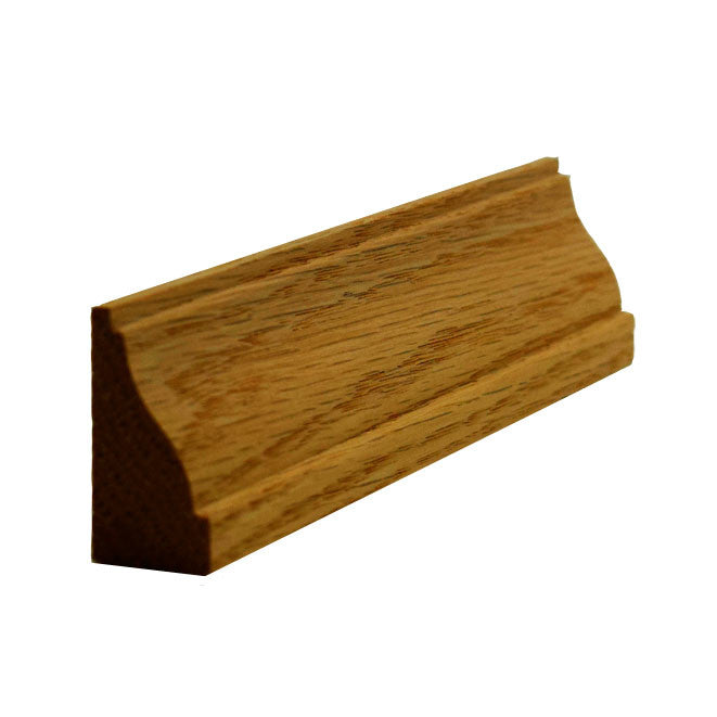 Red Oak Baseboard Shoe Molding EWBS14
