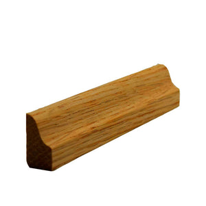 Red Oak Colonial Baseboard Shoe Trim EWBS15
