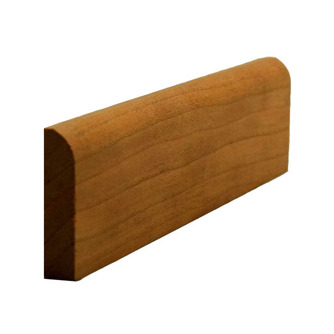 Cherry Contemporary Baseboard Shoe Trim EWBS16
