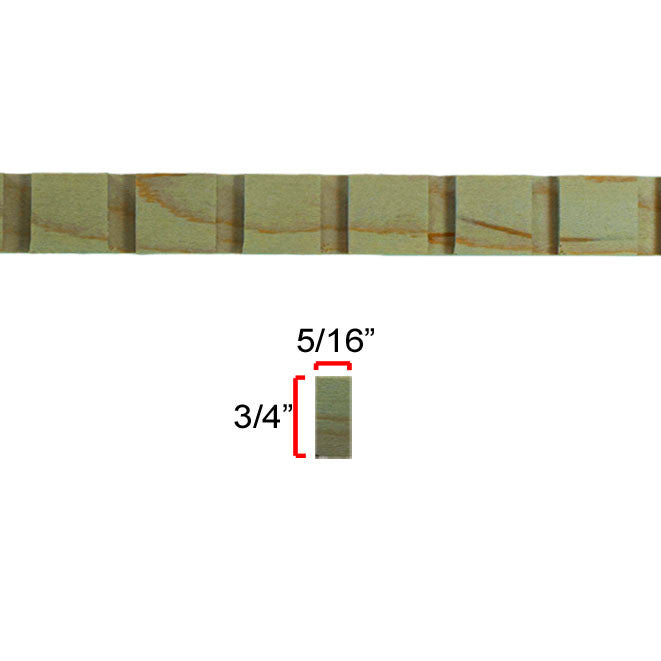 Maple Dentil Molding EWCD91