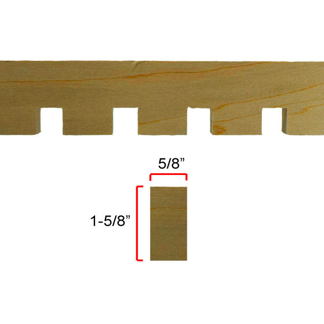 Maple Dentil Molding EWCD93
