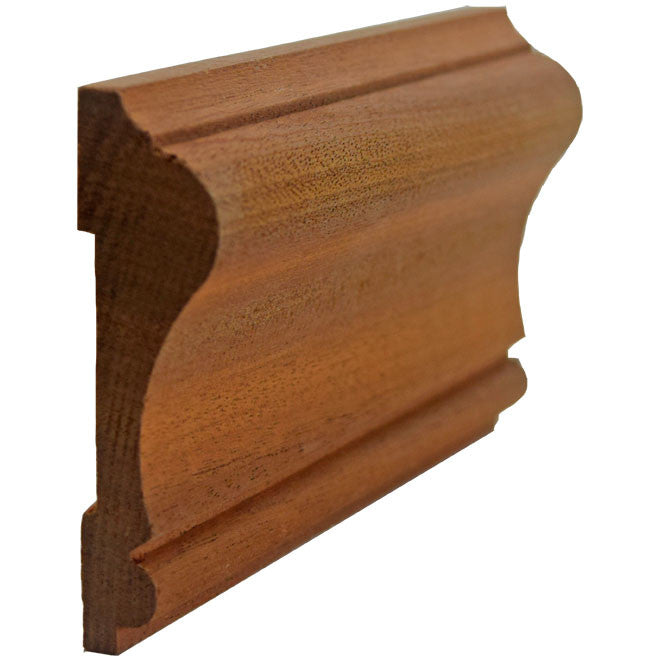 Sapele Mahogany Colonial Chair Rail EWCH11