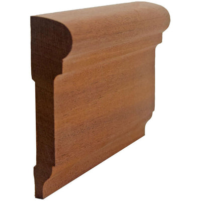 Sapele Mahogany Chair Rail EWCH17
