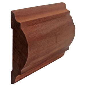 Sapele Mahogany Chair Rail EWCH20