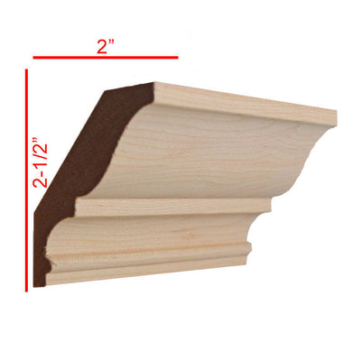 Maple Crown Molding Trim EWCR17