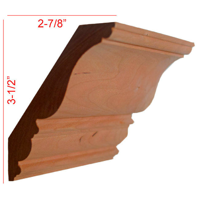 Cherry Crown Molding EWCR27