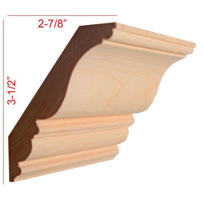 Maple Crown Molding EWCR27