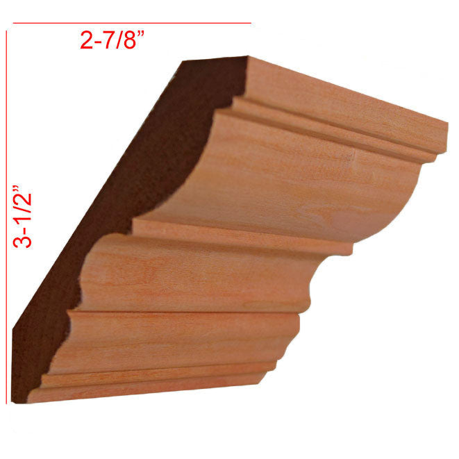 Cabinet Molding Newmouldings: Hardwood Crown Molding Super Store