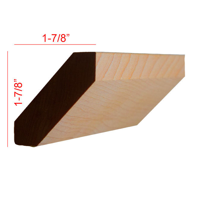 Maple Shaker Crown Molding EWCR37