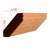 Red Oak Shaker Crown Molding EWCR37