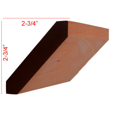 Cherry Shaker Crown Molding EWCR38