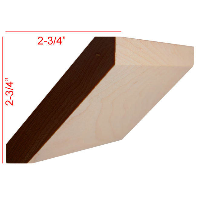 Maple Shaker Crown Molding EWCR38